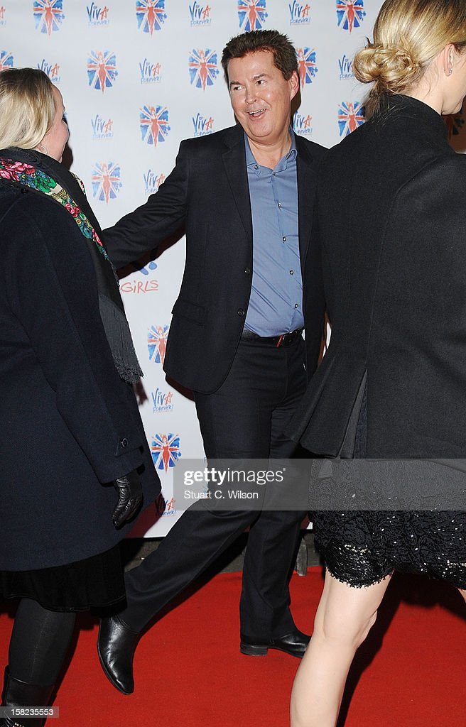 Simon Fuller attends the after party for the press night of 'Viva Forever', a musical based on the music of The Spice Girls at Victoria Embankment Gardens on December 11, 2012 in London, England.