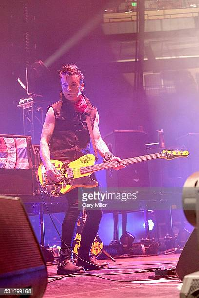 Simon Gallup of The Cure performs in concert at The Frank Erwin Center on May 13 2016 in Austin Texas