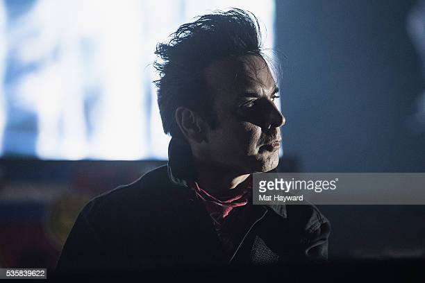 Simon Gallup of The Cure performs on stage during the Sasquatch Music Festival at Gorge Amphitheatre on May 29 2016 in George Washington