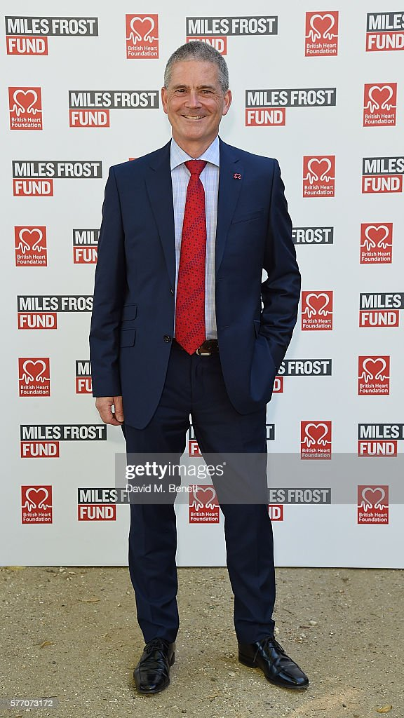 Simon Gillespie attends The Frost family final Summer Party to raise money for the Miles Frost Fund in partnership with the British Heart Foundation on July 18, 2016 in London, England.