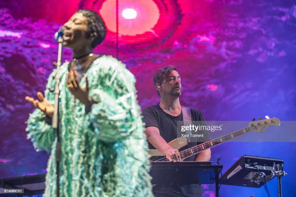 Simon Green aka Bonobo performs in concert during day 1 of Festival Internacional de Benicassim (FIB) on July 13, 2017 in Benicassim, Spain.