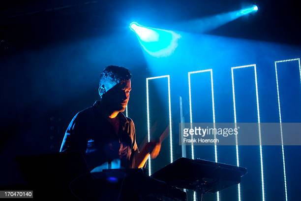 Simon Green with his project Bonobo performs live during a concert at the Astra on June 13 2013 in Berlin Germany