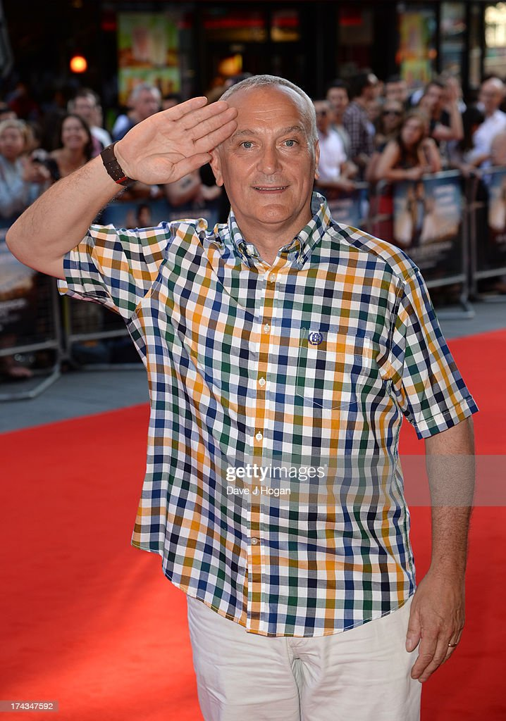 Simon Greenall attends the London Premiere of 'Alan Partidge: Alpha Papa' at Vue Leicester Square on July 24, 2013 in London, England.