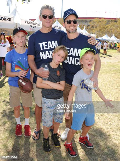 Simon Halls Matt Bomer Kits Halls Henry Halls and Walker Halls attend Nanci Ryder's 'Team Nanci' 15th Annual LA County Walk To Defeat ALS at...