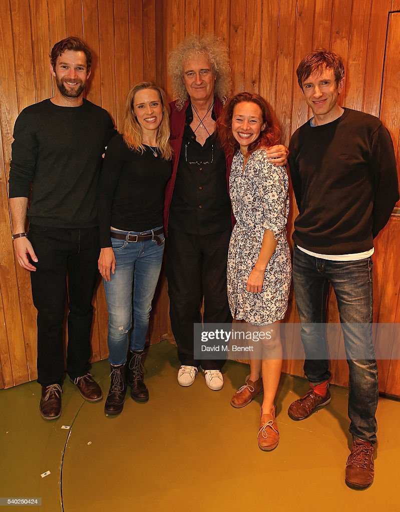 """Brian May Visits The West End Production Of """"Sideways: The Play"""""""