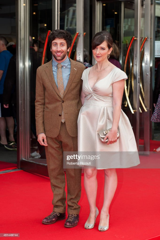 <a gi-track='captionPersonalityLinkClicked' href=/galleries/search?phrase=Simon+Helberg&family=editorial&specificpeople=3215017 ng-click='$event.stopPropagation()'>Simon Helberg</a> and Jocelyn Towne attend the Closing Night Gala and International Premiere of 'We'll Never Have Paris' at Festival Theatre during the Edinburgh International Film Festival on June 29, 2014 in Edinburgh, Scotland.