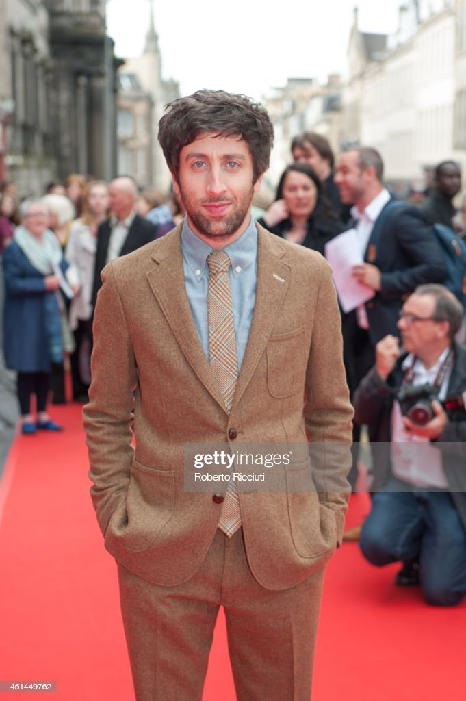 <a gi-track='captionPersonalityLinkClicked' href=/galleries/search?phrase=Simon+Helberg&family=editorial&specificpeople=3215017 ng-click='$event.stopPropagation()'>Simon Helberg</a> attends the Closing Night Gala and International Premiere of 'We'll Never Have Paris' at Festival Theatre during the Edinburgh International Film Festival on June 29, 2014 in Edinburgh, Scotland.