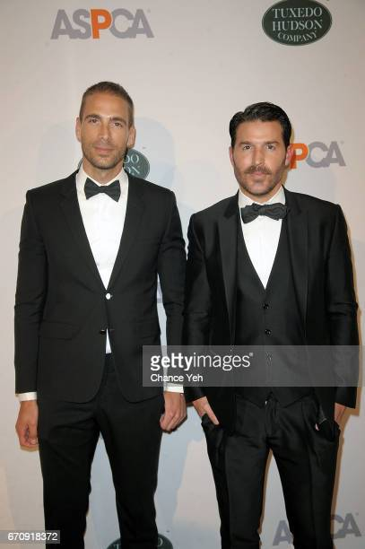 Simon Huck and guest attend 20th Annual ASPCA Bergh Ball at The Plaza Hotel on April 20 2017 in New York City