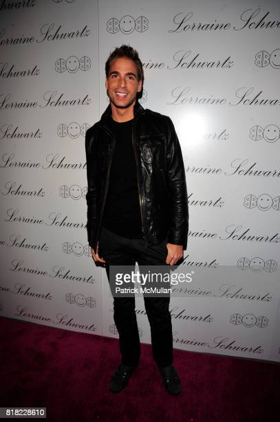 Simon Huck attends BEYONCE KNOWLES HOSTS THE LAUNCH EVENT FOR THE LORRAINE SCHWARTZ '2BHAPPY' JEWELRY COLLECTION at LAVO NYC on November 22 2010 in...