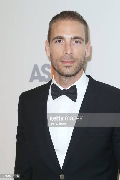 Simon Huck attends the ASPCA 20th Annual Bergh Ball at The Plaza Hotel on April 20 2017 in New York City