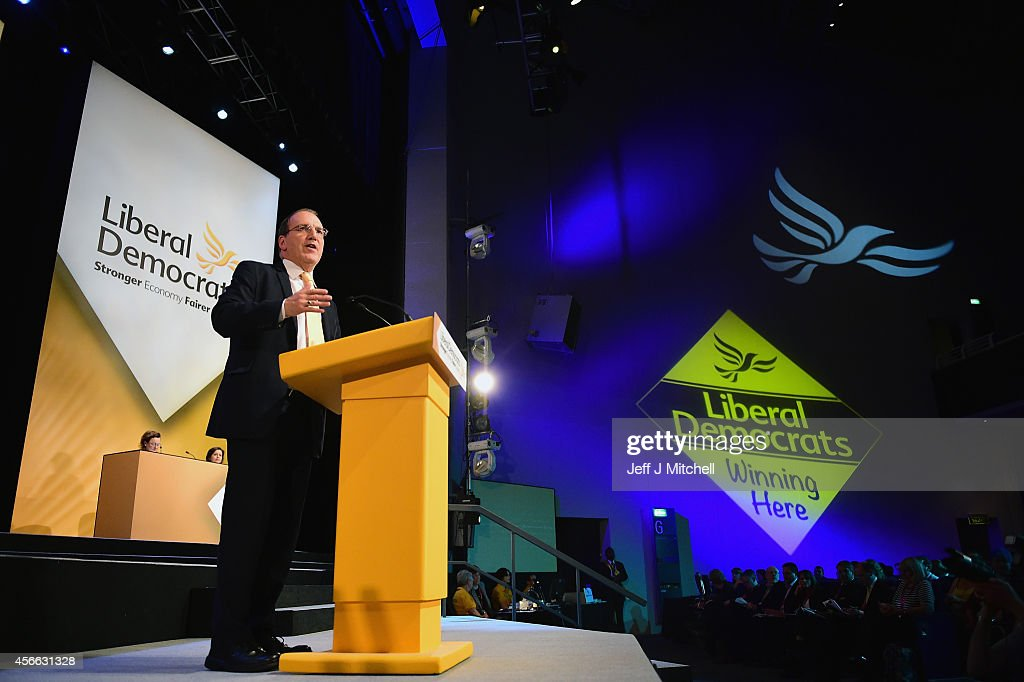The Liberal Democrats Hold Their Annual Party Conference At SECC Glasgow