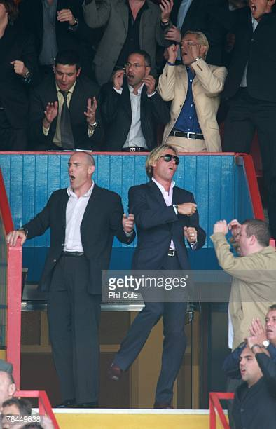 Simon Jordan owner of Crystal Palace sees a chance go wide during the Coca Cola Championship match between Crystal Palace and Charlton at Selhurst...
