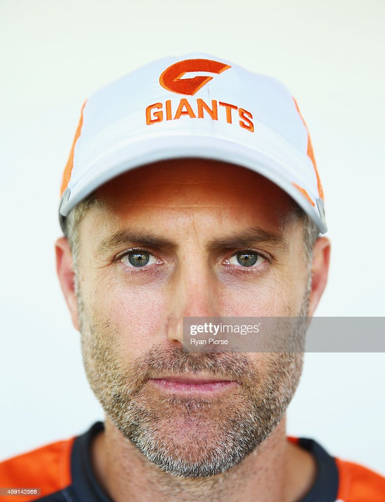 <a gi-track='captionPersonalityLinkClicked' href=/galleries/search?phrase=Simon+Katich&family=editorial&specificpeople=176577 ng-click='$event.stopPropagation()'>Simon Katich</a>, Giants Football Operations Manager, poses after a Greater Western Sydney Giants AFL press conference at Sydney Olympic Park Sports Centre on November 18, 2014 in Sydney, Australia. Katich, the former Australian Test Cricketer, was last week promoted to the role of Football Operations Manager.