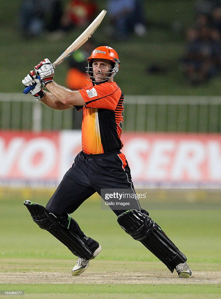 Simon Katich of Perth Scorchers bats during the Karbonn Smart CLT20 match between Kolkata Knight Riders and Perth Scorchers at Sahara Stadium Kingsmead on October 17, 2012 in Durban, South Africa.