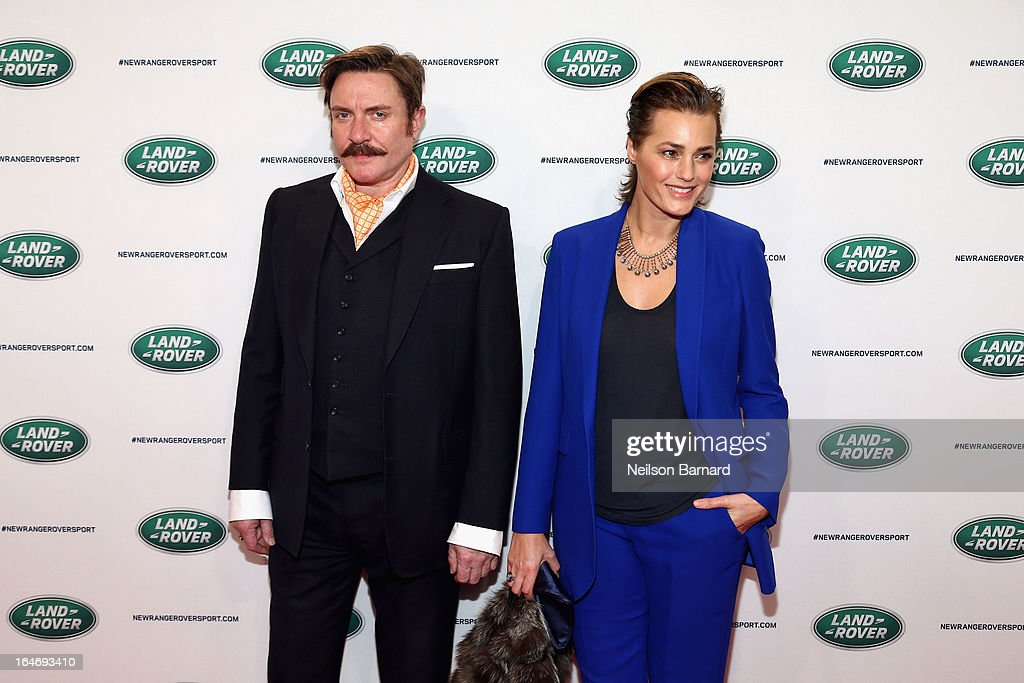 <a gi-track='captionPersonalityLinkClicked' href=/galleries/search?phrase=Simon+Le+Bon&family=editorial&specificpeople=160698 ng-click='$event.stopPropagation()'>Simon Le Bon</a> and <a gi-track='captionPersonalityLinkClicked' href=/galleries/search?phrase=Yasmin+Le+Bon&family=editorial&specificpeople=161272 ng-click='$event.stopPropagation()'>Yasmin Le Bon</a> attend the all-new Range Rover Sport reveal on March 26, 2013 in New York City.