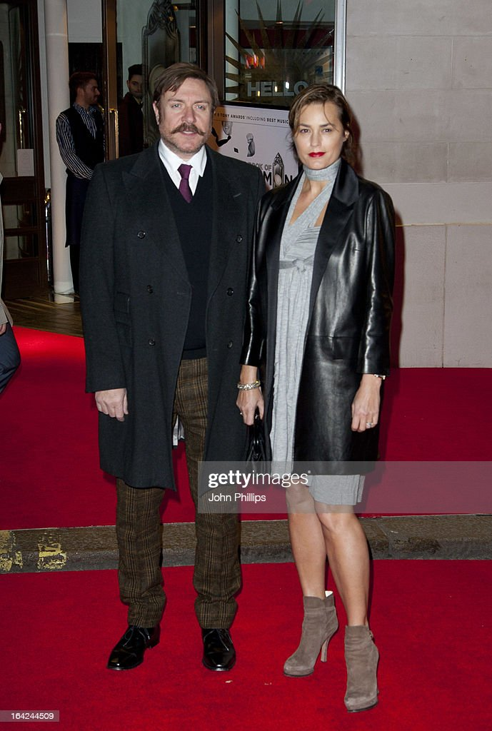 <a gi-track='captionPersonalityLinkClicked' href=/galleries/search?phrase=Simon+Le+Bon&family=editorial&specificpeople=160698 ng-click='$event.stopPropagation()'>Simon Le Bon</a> and <a gi-track='captionPersonalityLinkClicked' href=/galleries/search?phrase=Yasmin+Le+Bon&family=editorial&specificpeople=161272 ng-click='$event.stopPropagation()'>Yasmin Le Bon</a> attends the press night for 'The Book of Mormon' at Prince Of Wales Theatre on March 21, 2013 in London, England.