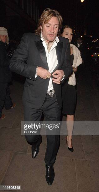 Simon Le Bon and Yasmin Le Bon during Burns' Night VIP Fundraising Party Departures January 25 2006 at Asia de Cuba in London Great Britain
