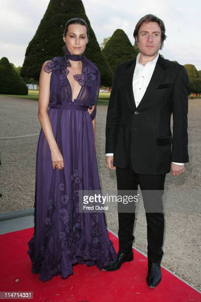 Simon Le Bon and Yasmin Le Bon during Raisa Gorbachev Foundation Party Red Carpet at Hampton Court Palace in London United Kingdom