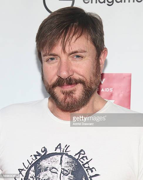 Simon Le Bon attends EndGame/Sleep No More The Global Campaign To Defeat AIDS TB And Malaria Charity Event at The McKittrick Hotel on May 30 2013 in...