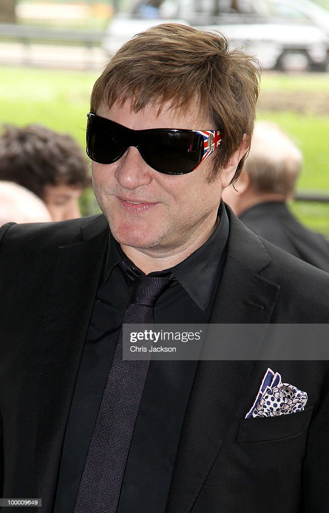 Simon Le Bon attends the Ivor Novello Awards at Grosvenor House, on May 20, 2010 in London, England.