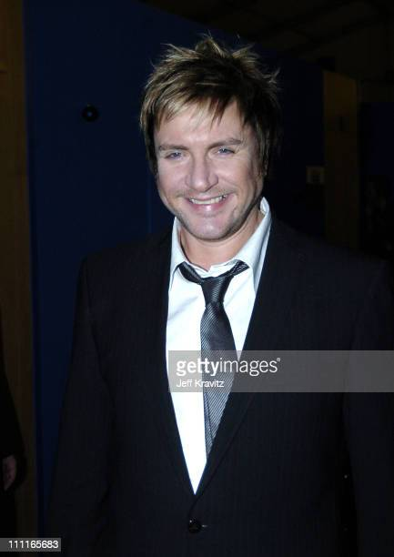 Simon Le Bon during 2004 MTV European Music Awards Backstage And Audience at Torr di Valle in Rome Italy