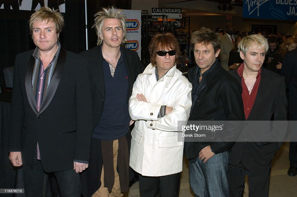 "Duran Duran in Store Signing for their New CD ""Astronaut"" - October 12, 2004"