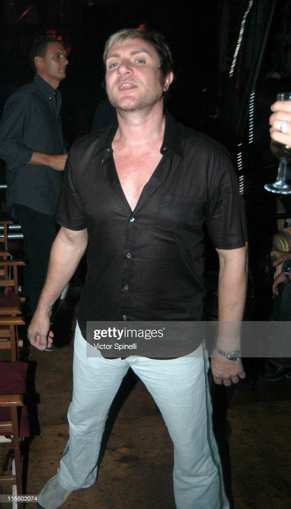 Simon Le Bon of Duran Duran during Manumission Week 5 - The Largest Party in the World at Privilege in Ibiza, Spain.