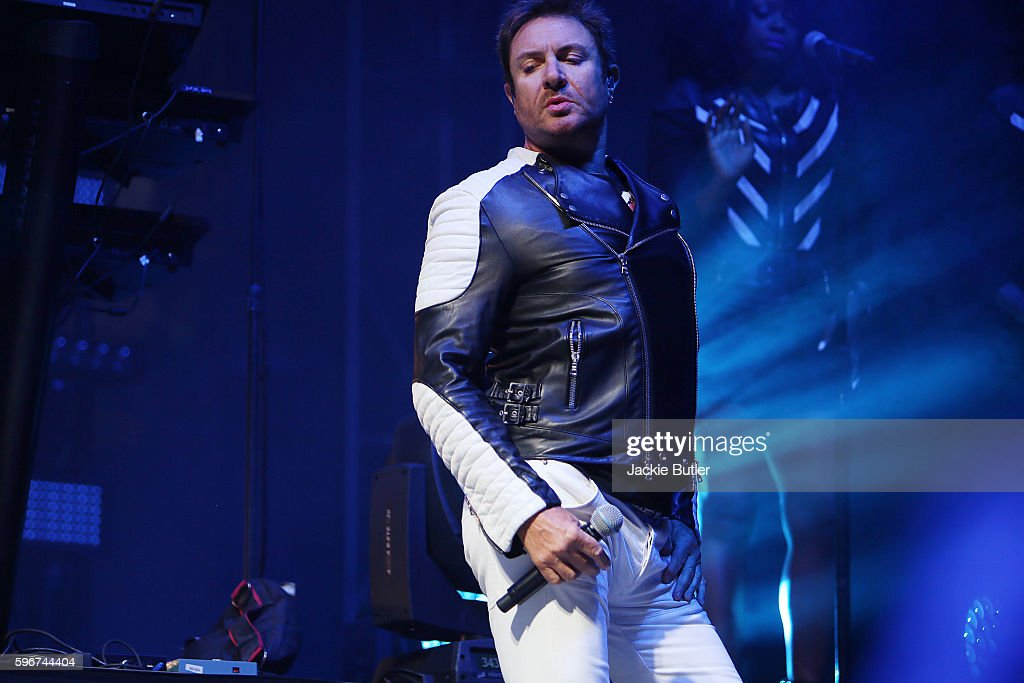 Simon Le Bon of Duran Duran performs during MusicFest NW presents Project Pabst at Tom McCall Waterfront Park on August 27 2016 in Portland Oregon