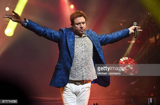 Simon Le Bon of Duran Duran performs onstage at the Apollo Theater on July 19 2016 in New York City