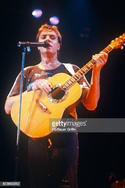 Simon LeBon of Duran Duran at Hammersmith Odeon on December 16 1981 in London United Kingdom 170612F1