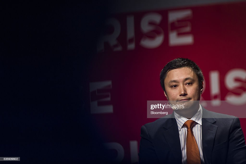 Simon Loong, founder of WeLab, listens during the Rise conference in Hong Kong, China, on Tuesday, May 31, 2016. The conference runs through June 2. Photographer: Justin Chin/Bloomberg via Getty Images