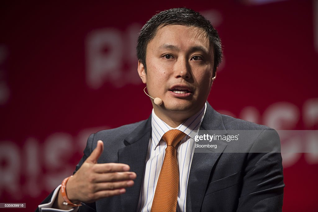 Simon Loong, founder of WeLab, speaks during the Rise conference in Hong Kong, China, on Tuesday, May 31, 2016. The conference runs through June 2. Photographer: Justin Chin/Bloomberg via Getty Images