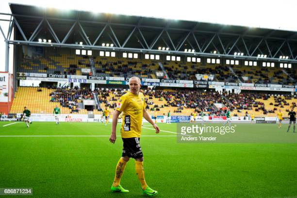Simon Lundevall of IF Elfsborg looks on during the Allsvenskan match between IF Elfsborg and Jonkopings Sodra IF at Boras Arena on May 22 2017 in...
