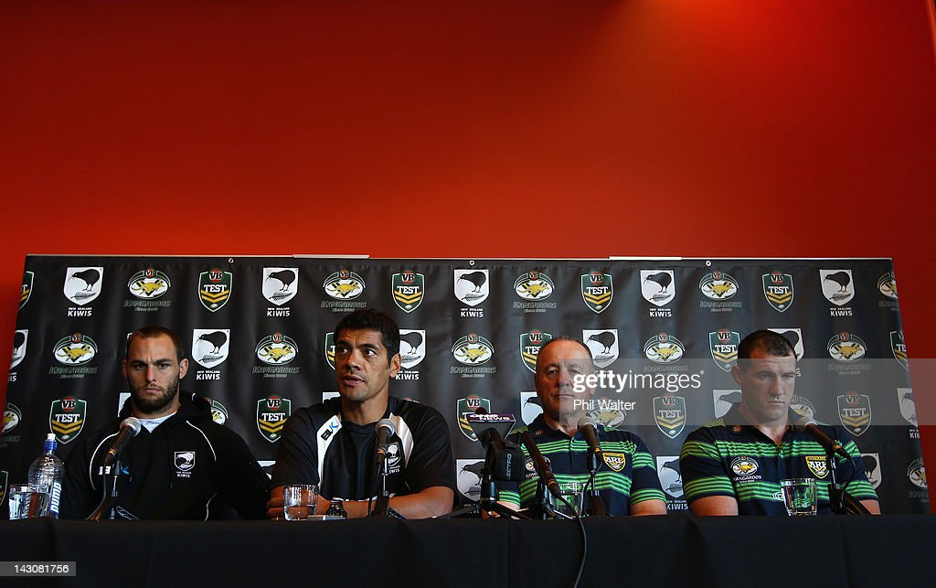 ANZAC Test Match Press Conference