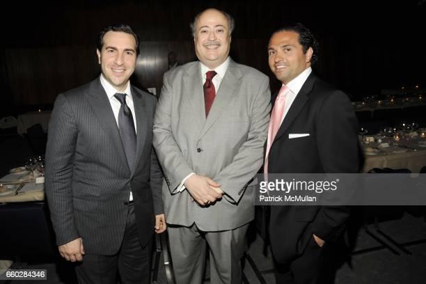Simon Masri Ruben Beltran and Solly Assa attend ENRIQUE NORTEN Private Dinner Celebrating the 25th Anniversary of TEN ARQUITECTOS at The Four Seasons...