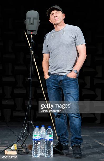 Simon McBurney attends 'The Encounter' Broadway Cast Photo Call at John Golden Theatre on September 16 2016 in New York City