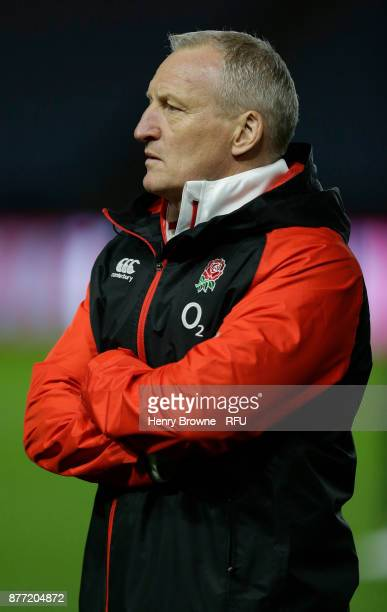 Simon Middleton of England during the Old Mutual Wealth Series match between England Women and Canada Women at Twickenham Stoop on November 21 2017...