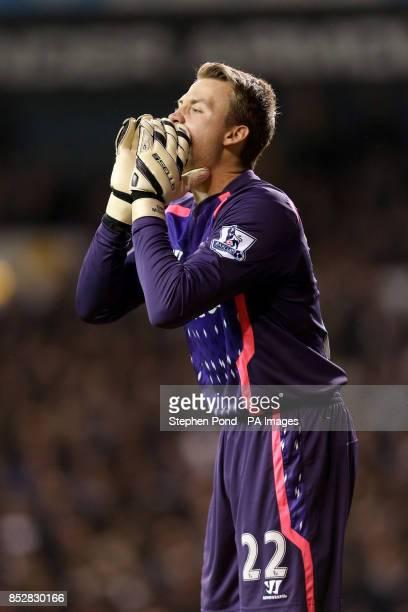 Simon Mignolet Liverpool goalkeeper