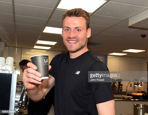 Simon Mignolet of Liverpool at Melwood Training Ground on May 22 2017 in Liverpool England