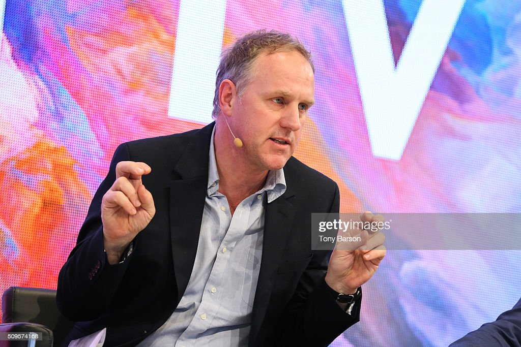 Simon Mills (Wallpaper* UK) attends Samsung: Inside The Future Of Television Panel at the Grimaldi Forum on February 11, 2016 in Monte-Carlo, Monaco.
