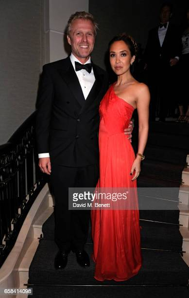 Simon Motson and Myleene Klass attend the English National Opera Spring Gala 2017 at Rosewood London on March 27 2017 in London England