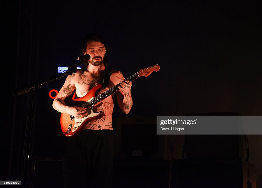 Simon Neil of Biffy Clyro performs during day 2 of BBC Radio 1's Big Weekend at Powderham Castle on May 29, 2016 in Exeter, England.