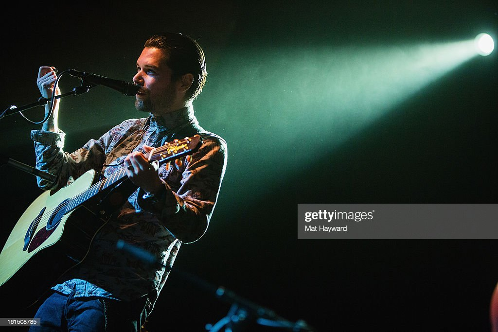 Simon Neil of Biffy Clyro performs during the SXSW launch party at the Crocodile on February 11, 2013 in Seattle, Washington.