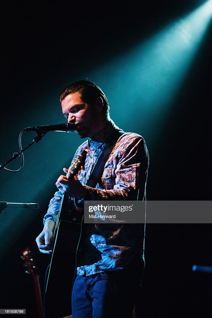 <a gi-track='captionPersonalityLinkClicked' href=/galleries/search?phrase=Simon+Neil&family=editorial&specificpeople=714520 ng-click='$event.stopPropagation()'>Simon Neil</a> of Biffy Clyro performs during the SXSW launch party at the Crocodile on February 11, 2013 in Seattle, Washington.
