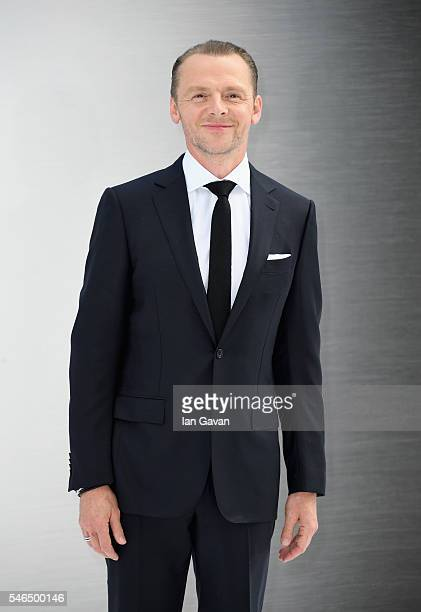 Simon Pegg arrives for the UK premiere of 'Star Trek Beyond' at Empire Leicester Square on July 12 2016 in London UK