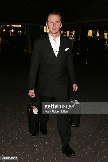 Simon Pegg attending the GQ Men of the Year Awards on September 6 2016 in London England