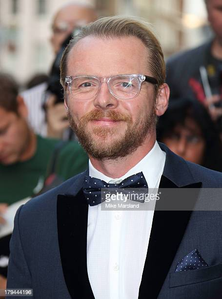 Simon Pegg attends the GQ Men of the Year awards at The Royal Opera House on September 3 2013 in London England