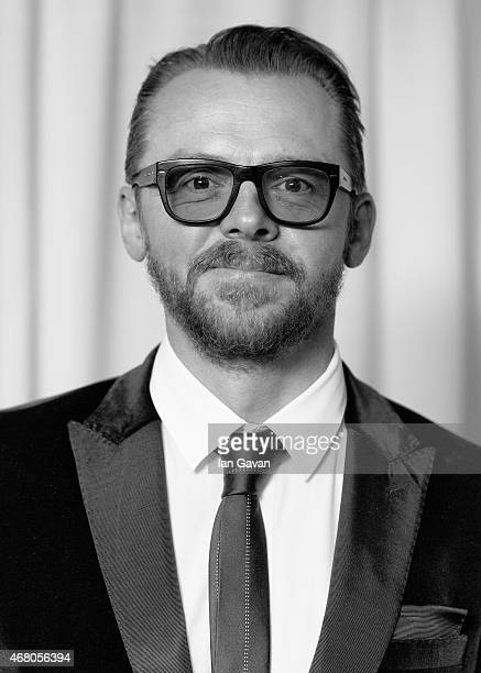 Simon Pegg attends the Jameson Empire Awards 2015 at Grosvenor House on March 29 2015 in London England