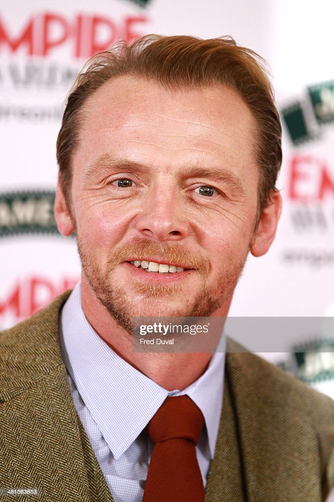 Simon Pegg attends the Jameson Empire Film Awards at The Grosvenor House Hotel on March 30, 2014 in London, England.