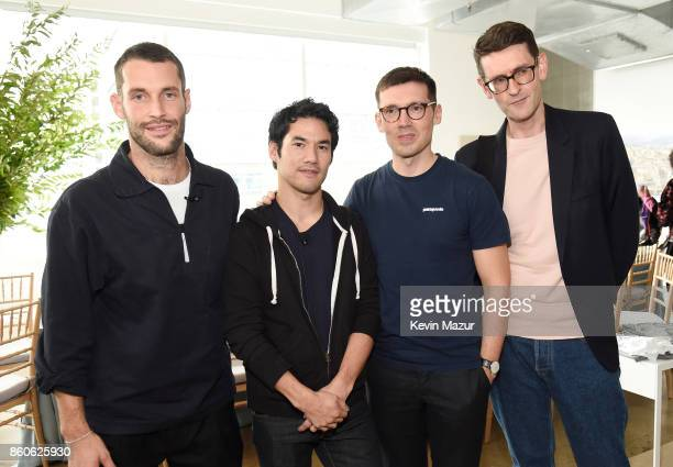 Simon Porte Jacquemus Joseph Altuzarra Erdem Moralioglu and Mark Holgate attend Vogue's Forces of Fashion Conference at Milk Studios on October 12...